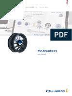 Ziehl Abegg Users Manual FANselect en En