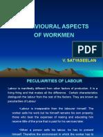 Behavioural Aspects of Workmen