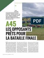 Non à a45 -Lyon Capitale Septembre 2017