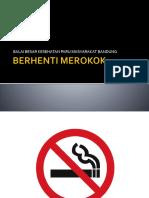 Berhenti Merokok Update III