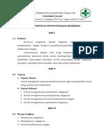 Panduan Tertulis Untuk Evaluasi Reagensia