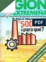 Índices de los 8 números publicados en 1979 de REGIÓN EXTREMEÑA. Revista del Hogar Extremeño de Madrid
