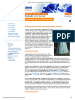 Bonding Old-To-New Concrete, Epoxy Concrete Bonding