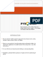 Pyrocrat Systems Review on Plastic Waste Management