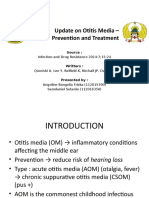 Update on Otitis Media – Prevention and Treatment