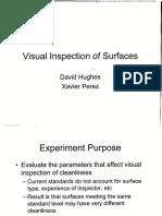 Visual Inspection of Surfaces NASA