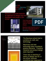 Bauhaus Power Point