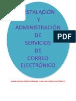 Tema 6 Instalacic3b3n y Administracic3b3n de Servicios de Correo Electronico
