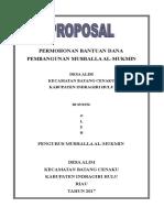 Cover Proposal Al-mukmin