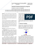 Design of Semi-Automatic Vibration Absorber by using FEA
