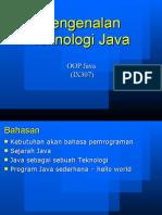 01 Pengenalan Teknologi Java t
