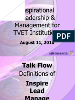 Pido Aguilar- Inspirational Leadership