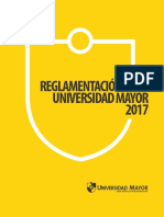 Reglamento Pregrado Umayor 2017