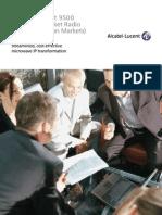 Alcatel-Lucent 9500-MPR Brochure NA