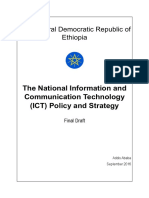 FDRE - National ICT Policy English