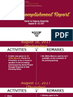 3rd Accomplishment Report