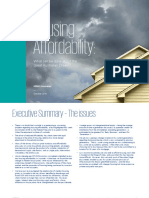 Housing Affordability Great Australian Dream