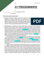 Proceso y Procedimiento - Felipe Gorigoitía