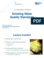 Lecture 1-Drinking Water Quality Standards