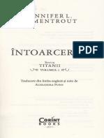Intoarcerea (Seria Titanii Vol. 1) - Jenniffer L. Armentrout[1]