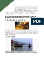top 6 ghats of kasi