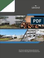 SDMIMD Institute Brochure 2016