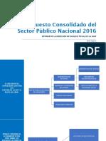 Análisis Presupuesto Sector Público Nacional 2016