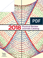 2018 APS Journals Catalog