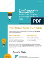 Education Idea Bulb Google Slides Presentation.pptx
