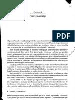 2.1. Rodriguez (2001). Poder y Liderazgo (Cap. v)