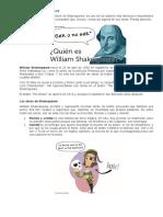 Ser o No Ser Actividades Shakespeare