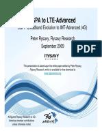 HSPA LTE Advanced Rysavy Powerpoint Sept09[1]