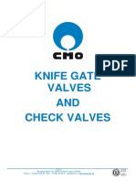 Cmo Knife Gate Valves
