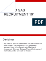 Oil and Gas Recruitment 101