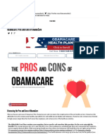 ObamaCare_ Pros and Cons of ObamaCare