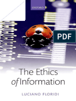 Luciano Floridi the Ethics of Information