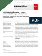 Comportamiento Inteligente y Creativo_ Efectos de Distintos Tipos de Instrucciones _ Suma Psicológica