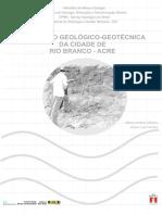 Cprm - Avaliação Geológico - Geotécnica Da Cidade de Rio Branco - Acre