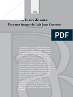 Guillermo David - A La Voz de Aura - Para Una Imagen de L J Guerrero