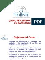 CLASE 6 - Cómo Diseñar Un Plan de Marketing
