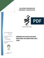 Memoria de calculo-Nave Industrial para Sam´s Club.docx