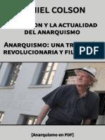 Colson, Daniel - Proudhon y la actualidad del anarquismo y Anarquismo. Una tradición revolucionaria y filosófica [Anarquismo en PDF].pdf