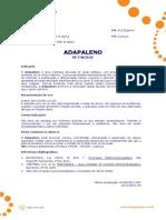 Ficha Tecnica - Adapaleno