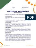 Ficha Tecnica - Amoxicilina Tri-Hidratada