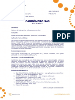 Ficha Tecnica - Carbomero 940