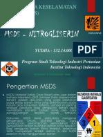 Yudha-K3- MSDS Nitroglyserin.ppt