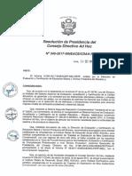 Resolución N°340-2017-SINEACE-CDAH-P
