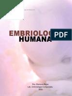 Embriologia Humana Mariana Rojas
