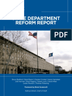 State Department Reform Report