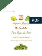 50 Mejores Recetas de Ensaladas - Mario Fortunato
